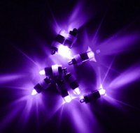 batería de globo led al por mayor-10 unids / lote con batería Mini LED globo fiesta luz impermeable LED Mini partido luz de la boda fiesta de interior / exterior decoración de la noche