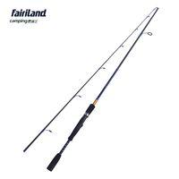 señuelos giratorios al por mayor-Fairiland 6.6ft 7ft Spinning caña de pescar L UL señuelo de la energía caña de pescar fibra de carbono alta 2 SEC fashioable accesorio de pesca ligera