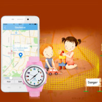 TOP Watch Anti Perdido GPS Tracker Reloj para niños SOS Emergencia GSM Smart Mobile App para IOS Android Smartwatch Wristband