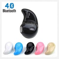 Wholesale Cheapest Iphone Box - Gold Sport Running cheap s530 Mini Stealth Wireless Bluetooth 4.0 Earphone Stereo Headphones music Headset Retail Box free shipping