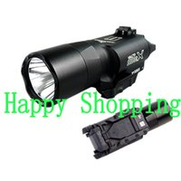 Wholesale Green Tactical Light - Tactical X300 X300U Ultra High Output LED 500 Lumens Flashlight Light Picatinny Weaver Universal