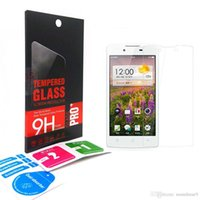 Wholesale Oppo Screen - 2.5D Premium Tempered Glass screen Protector For OPPO R9 R8 R7 PLUS A35 A30 FIND 7 5 X9007 X9077 X909 R829 R830 A59 with retail-box