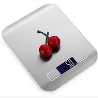 Wholesale kitchen scale battery resale online - Digital Stainless Steel Kitchen Scale Multifunction Food Scale Stain NO BATTERY