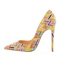 buy hot-hot - 2016 women new fashion high heels dress shoes party shoe office shoes super high heel stiletto pumps big size EU 34 to 45