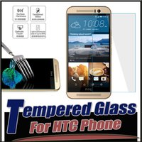 Wholesale E8 Screen - 9H Hardness Explosion Proof Real Premium Tempered Glass Screen Protector Film Guard For iPhone 7 6 6S Plus HTC M8 M7 M9 E8 E9 Plus MOQ:10pcs