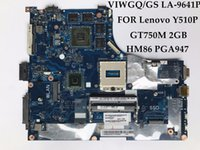 Wholesale Intel Ssd Support - High quality FOR Lenovo Y510P laptop motherboard VIWGQ GS LA-9641P HM86 PGA947 DDR3 GT750M 2GB M.2 2242 SSD Support 1920*1080