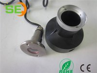 Wholesale 1w Led Underwater Light - 2016 new 1w 3w LED Underwater light 316stainless steeel round cover 24VDC IP68 RGB 3IN1 LED fountain light