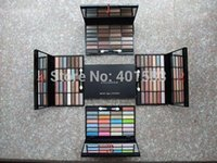 Wholesale Eyeshadow 26 Colors - Free Shipping-hot sale branded new cosmetics mc eyeshadow palette 26 color+mini eye sponged sticker eye shadow mc makeup supply,free shiping