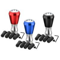 Wholesale peugeot gear knob - 5 Speed Manual Aluminum Alloy Gear Shift Stick Knob for Peugeot 405 307 206 3 Colors