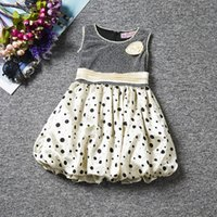 Wholesale Kids Fashion Clothes Low Price - Low price princess skirt dot skirt baby clothes Dress Kids Wear Fashion Princess Dress Children Clothing