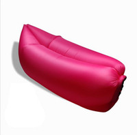 Wholesale Air Dream - Fashion style Outdoor Inflatable Lounger, Nylon Fabric Beach Lounger Convenient Compression Air Bag Hangout Bean Bag Portable Dream Chair