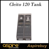 Wholesale Bear Technology - Aspire Cleito 120 Tank 4ML Cleito 120 Top-Fill Tank Advanced Airflow Technology Wide Bore Delrin Drip Tip Exploded View 100% Authentic