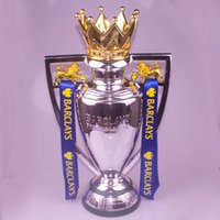 Wholesale League English - 1:1 real life size 77 cm english fa Premiership trophy , premier league trophy replica Cup Barclay trophies and awards