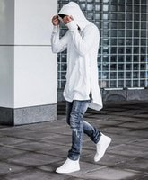 Wholesale Street Swag - 2017 New Zipper Side Hooded Kanye Men Do Hoodie Hip Hop Sweater of Swag Men Clothing Brand 2016 Spring Street Style Thin