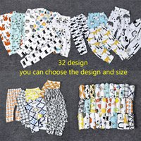 Wholesale Baby Boy Canvas - 32 Design kids INS Lemon pp pants baby toddlers 2016 boys girls fox lemon tent feather geometric figure fruit trousers Leggings B001
