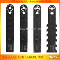 Wholesale Export Tools - 24 pcs kit oscillating tool saw blades for renovator tools as Fein multimaster,TCH,Dremel,with export quality,free shipping