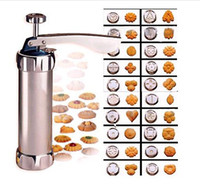 Wholesale Cookies Press - Cookie Biscuits Press Machine Kitchen Tool Cake Decorating Biscuit Maker Set