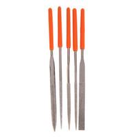 Wholesale Diamond Needle File Set - New Arrival Hot Sale 5 in 1 New Diamond Needle File Practical Durable Metal Repair Tool Kit Set Free Shipping E5M1 order<$18no track