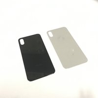 Wholesale Iphone Back Glass Door - Grade A+ Quality No Scratched Rear Panel Back Glass Battery Housing Door Cover For iPhone X