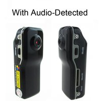 Wholesale Camera Pc Portable - HD 1280*960 voice avtived Mini DV Sports Digital Video Recorder MD80 Portable DVR Hidden Camera PC webcam 5.0MP COMS mini Camera
