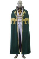 Wholesale custom code geass cosplay for sale - Newest High Quality Japanese Anime Code Geass Gino Weinberg Uniform Cosplay Costume Custom Size For Halloween