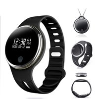 Wholesale kid gps tracking watch - E07 Waterproof Bracelet IP65 Bluetooth Smart Watch Sport Healthy Pedometer Sleep Monitor Tracking For Android IOS phones