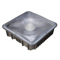 Wholesale bay ceiling - 45W 70W LED Canopy Light Commerical Grade Weatherproof Outdoor High Bay Balcony Carport Driveway Ceiling Light [175-400W HID HPS Equivalent]