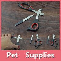 Wholesale Nail Grooming Tool For Cats - Brand New Practical Pets Nail Clipper Cutter Grooming For Dogs Cats Animal Claws Scissor Cut Pet Supplies 160909