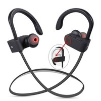 Wholesale Wireless For Bass - DXVROC Bluetooth Headphones Headset Mic Earphones Wireless Sports Headphone IPX7 Sweatproof Heavy Bass Stereo Headset ( US Has Stock )