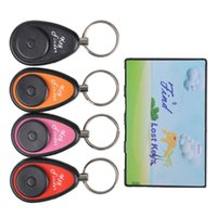 Wholesale Transmitters Receivers Finder - 2016 New Product On Sale Wireless Key Finder set with 1 Credit Card Sized Transmitter and 4 Receivers For Sale