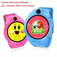 2017 Neue Kinder Smart Uhren mit Kamera LBS Location Kinder Touch Screen Wasserdichte Smartwatch SOS Anti-Lost Monitor Baby Armbanduhr b1467