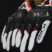 New Model Armed Leather Mesh Glove RS-TAICHI Moto Racing Gloves RST390 motorcycle gloves motocross motorbike glove carbon fiber gloves