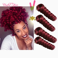 MARLEY TWIST NERO ESTENSIONI DI CAPELLI SINTETICI BOUNCY TWIST OMBRE Curling kalon sintetico intrecciatura HAIR crochet estensioni dei capelli toni saniya arricciatura