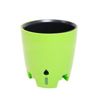 Elegante Flower Rail Planter Windows plantador auto rega Flower Pot Planta para Home Office Cafe Bar Decoração