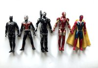 Wholesale Toy Model Figures - 10pcs set 7 inches superhero action figures toys model Movable Decoration 18cm DHL shipping C869