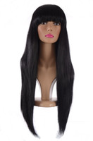 Wholesale weave hairstyles for black hair for sale - Advanced Database Doesn t Tail Straight Silk Wig Is Full Of Beads Hair Fake Hair Wigs For Black Women Weaving Full Lace Human Hair Wig