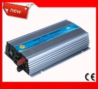 Wholesale Sine Wave Free Shipping - Free shipping Caki Power 10.5-28VDC 1KW High Efficiency Pure Sine Wave Solar Inverters 1000w Solar Microinverters for solar energy systems