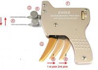serrure pick gun livraison gratuite achat en gros de-HH 2016 le plus récent type EAGLE pistolets à verrouillage mécanique semi-automatique, EAGLE Brockhage Downward Pick Gun, serrurier serrurier pick gun livraison gratuite