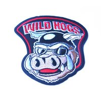 "Wholesale iron rider - 2016 30 PCS 4"" Wild Hogs Motocycle Rider Biker Gang Iron On Vest Jacket Patch Embroidered Patches Badges Fabric Armband Stickers 1894"