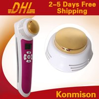 Wholesale Ultrasonic Skin Tightening Home Use - Home use skin tightening beauty facial machine mini hot and cold hammer for face lifting