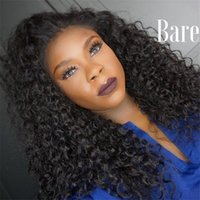 ilk Top Lace Front Perücken Deep Curly Glueless Full Lace Menschenhaar Perücken Silk Base Bleached Knot