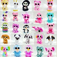 Wholesale Small Stuffed Animal Toys Wholesale - Hot Ty Beanie Boos Big Eyes Small Unicorn Plush Toy Doll Kawaii Stuffed Animals Collection Lovely Children's Gifts
