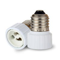 Wholesale Es Led - Fedex FREE shipping ES to GU10 adaptor LED Light Adapter E27 to GU10 adaptor holder adapter GU10 to E27 converter socket E27-GU10 GU10-E27