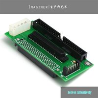 Wholesale Sca Adapter - Wholesale- SCSI SCA 80 PIN TO 68 50 PIN SCSI Adapter SCA 80 PIN TO SCSI 68 IDE 50 Free Shipping Wholesale