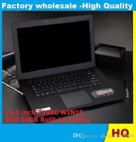 Wholesale Atom Computers - The new 14.1 inch Ultrabook ultra-thin notebook computer Intel Atom x5-z8300 z140c 4GB 64GB WiFi Windows quad core laptop notebook computer
