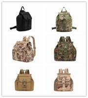 Wholesale 2016 Tactical Backpack Men Sling Back Pack Shoulder Travel Multi purpose Molle BagsMultifunctional outdoor tactical camouflage backpack sh