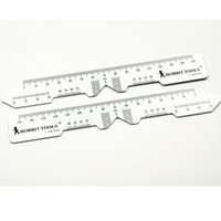 Wholesale Pd Meter - Wholesale-50 Pieces lot Pupil Distance Meter Optical PD Ruler Measuring Instrument White