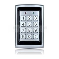 Wholesale Entry Metal Door Access Control - 125KHz RFID Entry Metal Door Access Control System + 10 Free ID Card Key Fobs Brand NEW