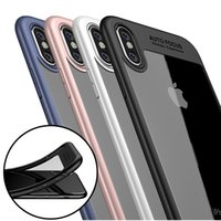 Wholesale Purple Rings - For iPhone 8 Plus iPhone X Samsung S8 Plus 2in1 Anti-Fall Protection Shockproof Armor Hard TPU PC Ring Support Cellphone Cases with Retail