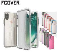 ingrosso caso di retro dell'onda di iphone-Hybrid Armor Wave Point per Apple iphone X Custodia iphone 6 Plus 6s 7 Plus 8 Plus antiurto TPU protettiva Soft Cover posteriore in gel